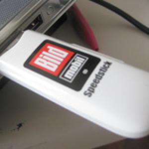 Neue Surfstick-Hardware bei RTL und BILD