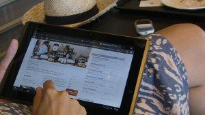 Der Hotspot von tripNETer kann mit einem iPad genutzt werden