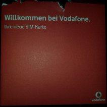 Vodafone Brief im Sparhandy Paket