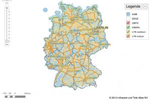 Verfügbarkeit LTE Deutschland